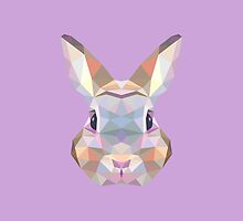 Geometric Bunny by KingdomofArt
