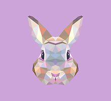 Geometric Bunny by KingdomofArt