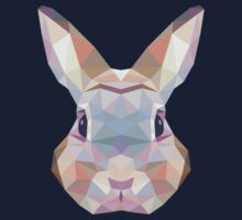 Geometric Bunny Kids Clothes