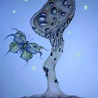 The Omega Plant and The Watchful Butterfly by Helena Wilsen - Saunders