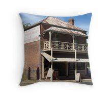 General Grocer and Produce Store- Hill End Throw Pillow