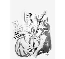music lesson Photographic Print
