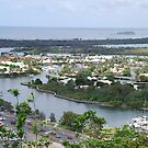 Tweed Heads from Mt Toonbarabah by Graham Mewburn