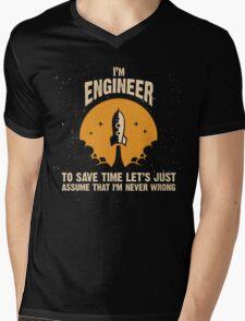 I'm ENGINEER Mens V-Neck T-Shirt