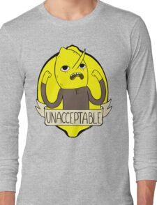 UNACCEPTABLE Long Sleeve T-Shirt