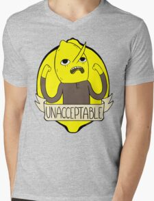 UNACCEPTABLE Mens V-Neck T-Shirt