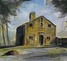 'Ruined cottage, Harewood Estate' by Martin Williamson (©cobbybrook)