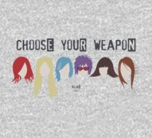 Choose Your Weapon - Alias Kids Tee