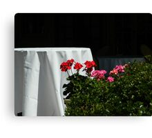 Al Fresco    ^ Canvas Print