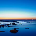 Sunrise at Susan Gilmore Beach - Newcastle, Australia by Eric Lam