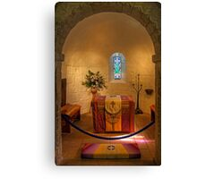 St. Margaret's Chapel Interior Canvas Print