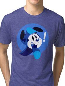 Puppy Boy Blue Tri-blend T-Shirt