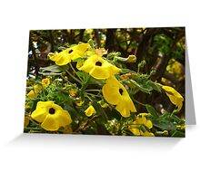 Yellow Flowers For Your Delight  Greeting Card