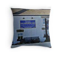 """"""" Cornish Pubs"""" Throw Pillow"""