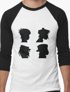 the gorillaz  Men's Baseball ¾ T-Shirt