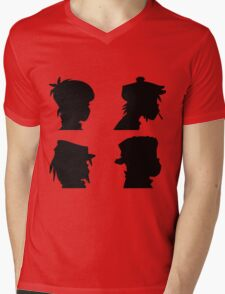the gorillaz  Mens V-Neck T-Shirt