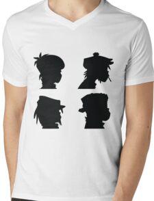 the gorillaz  Mens V-Neck T-Shirt
