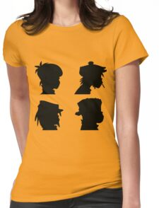 the gorillaz  Womens Fitted T-Shirt