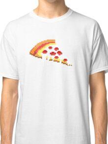 Pizza - 8 bit Classic T-Shirt