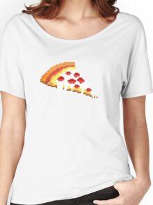 Pizza - 8 bit Women's Relaxed Fit T-Shirt