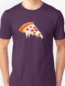 Pizza - 8 bit Unisex T-Shirt