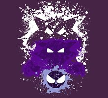 Gastly, Haunter, and Gengar Splatter T-Shirt