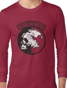 Metal Gear Solid - MSF (Militaires Sans Frontières) Long Sleeve T-Shirt