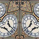 Big Ben abstract 3 by rhallam