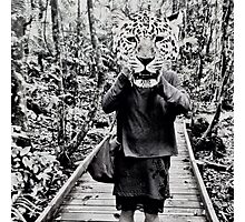 Leopard animal head Photographic Print