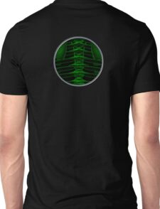 X-rays back view in live Unisex T-Shirt