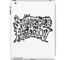 Shattered Reality new logo iPad Case/Skin