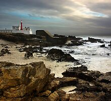 Lighthouse of Cape Raso, Portugal by ccaetano