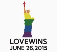 LOVE WINS JUNE 26,2015 by paganosman