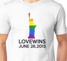 LOVE WINS JUNE 26,2015 Unisex T-Shirt