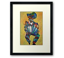The Accordionist Framed Print