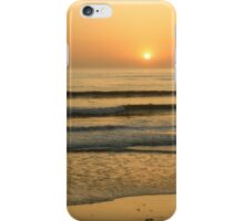 Golden California Sunset - Pacific Beach, San Diego iPhone Case/Skin