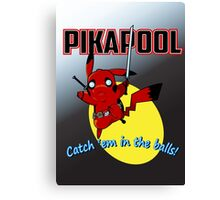Pikapool Canvas Print