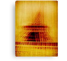 Paris paris Canvas Print