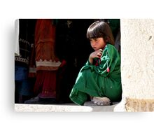 Busy Day (Afghanistan) Canvas Print