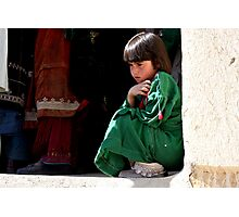 Busy Day (Afghanistan) Photographic Print