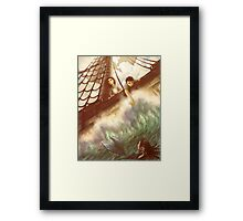 The High Seas Framed Print