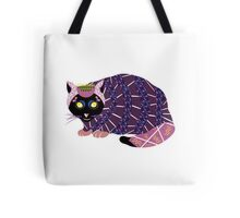 Abstract Cat [BLACK] Tote Bag