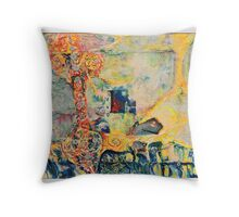 Womb Of Creation Throw Pillow
