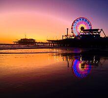 Santa Monica Pier by Stephen Burke