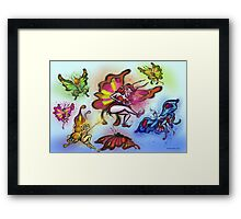 Faeries Framed Print