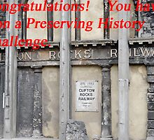 Preserving History Banner Challenge Entry by buttonpresser