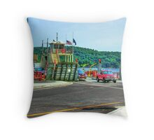 Merrimac Ferry Throw Pillow