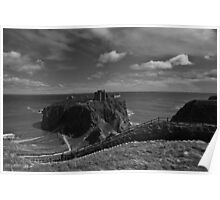 Dunnottar Castle and Coast Poster