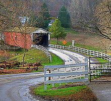 History of the Covered Bridge by Monte Morton