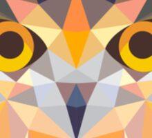 Geometric Owl Sticker